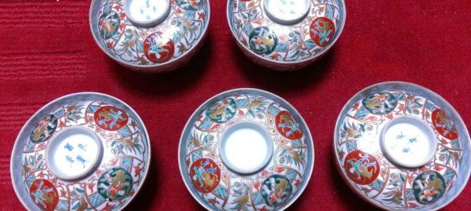明治の大聖寺伊万里…また蓋茶碗ですが!