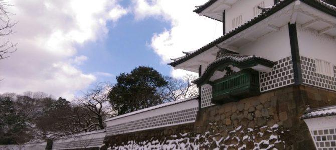 雪本番、金沢ですが…表具店で感激お勉強