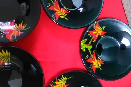 鮮明な色彩!…琉球漆器