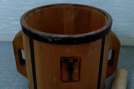 いきなり大きな樽!!