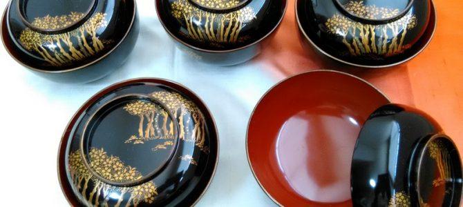 時代物蒔絵菓子椀…使い道色々