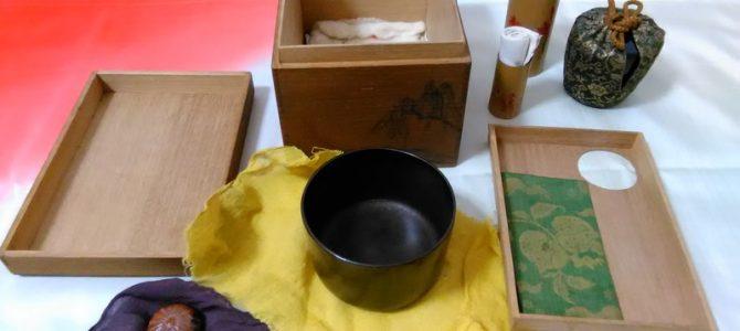 茶箱…集める楽しみ、自分の好みを揃えてください