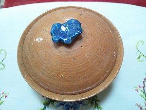 少し珍しい、大樋焼の鍋