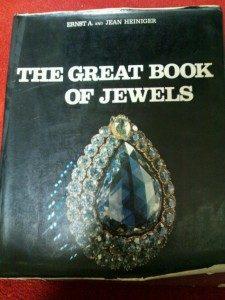大きな宝飾品の図鑑、洋書