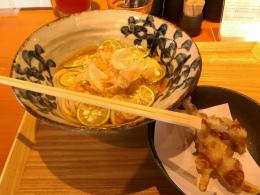 本町製麺所、暑い時にさっぱりすだちうどん!