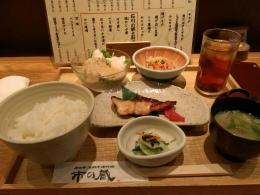 すっかりお気に入りの近江町市場市の蔵でおばんざい定食