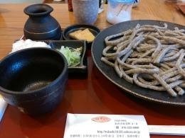田舎粗挽きがお気に入り、金沢駅前蕎麦やまぎし