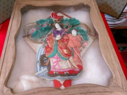 江戸時代より続く…押し絵の飾り物
