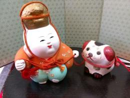 五所人形、狛犬も!…双方かわいらしく