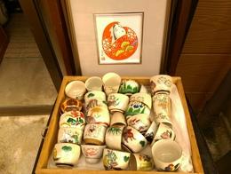 明治の蓋茶碗…私はなぜか蓋茶碗が好きです
