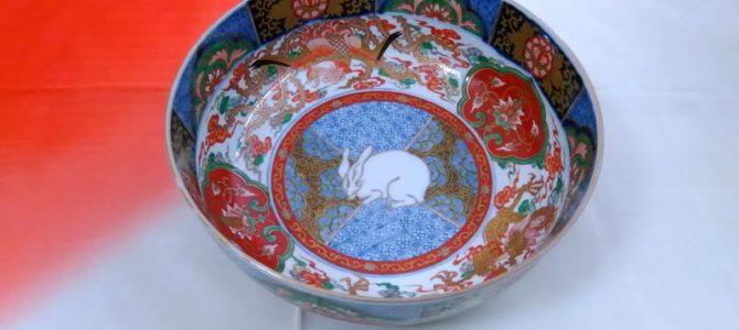 とても大きな深い鉢…伊万里