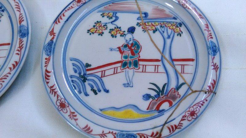 楽しい九谷焼のお皿