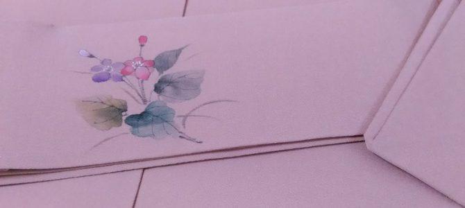 上品な名古屋帯…お茶席にぴったり