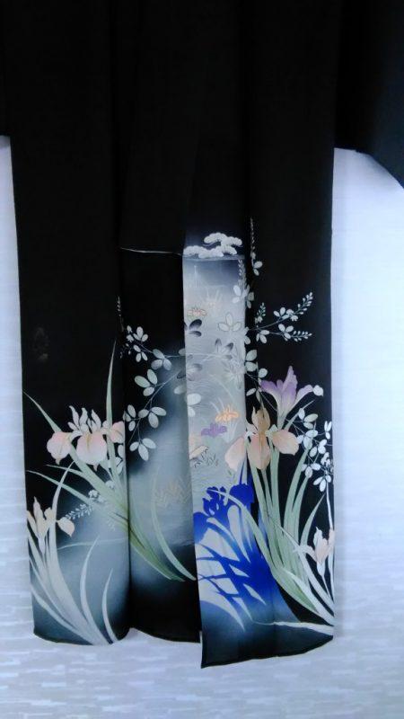 夏の黒留袖