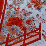 九谷焼赤絵大皿3