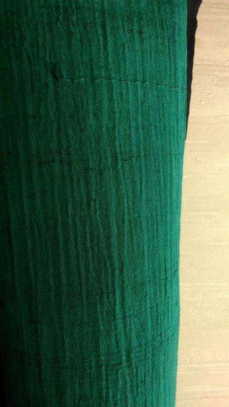 自然素材麻のアンティーク夏着物