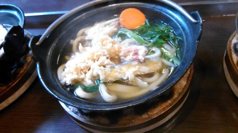 福わ家揚げ天饂飩鍋