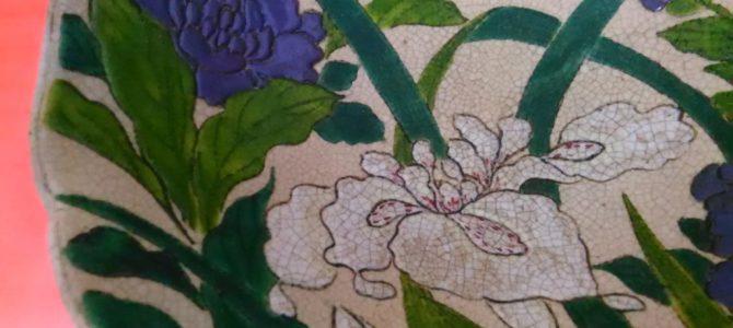 美しいお花です…菖蒲の鉢