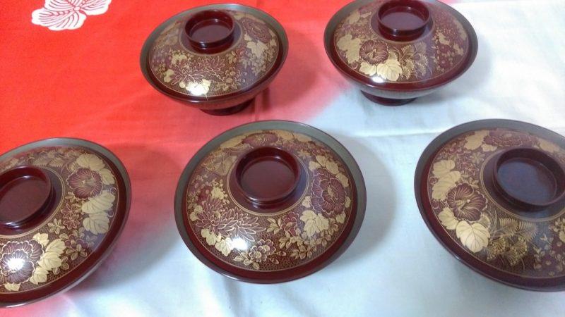 輪島塗煮物椀