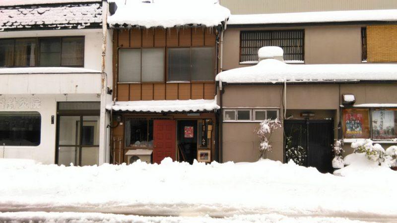 みやの前の雪