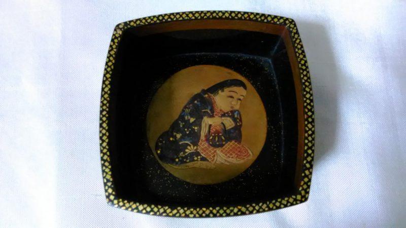 福福時代蒔絵のお猪口