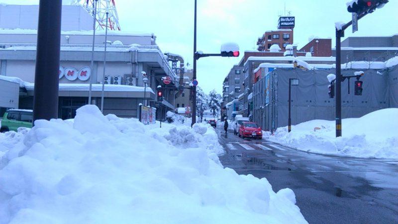 2018豪雪みやの前