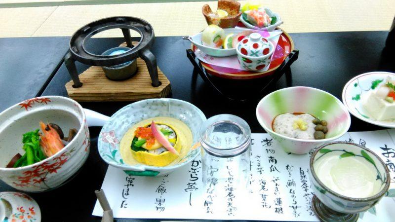 湯涌温泉料理