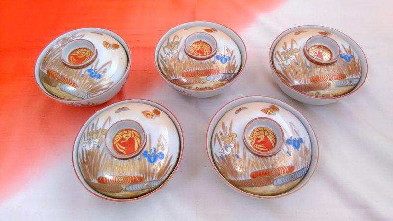 大正九谷焼御飯茶碗