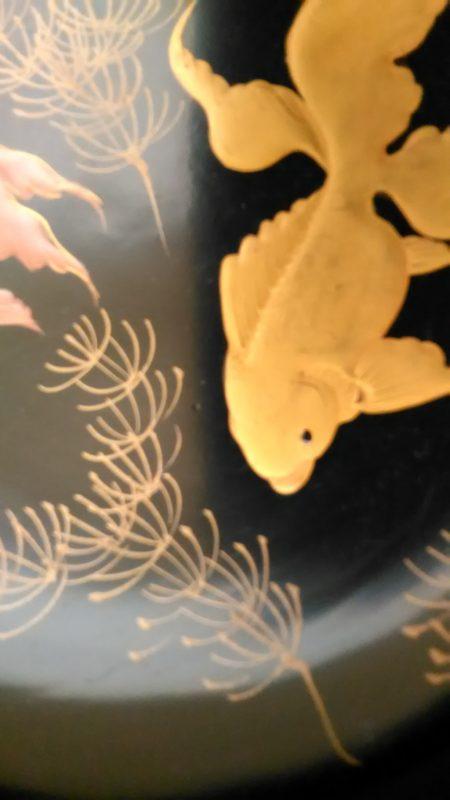 金魚の杯洗