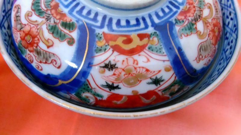 伊万里蓋茶碗
