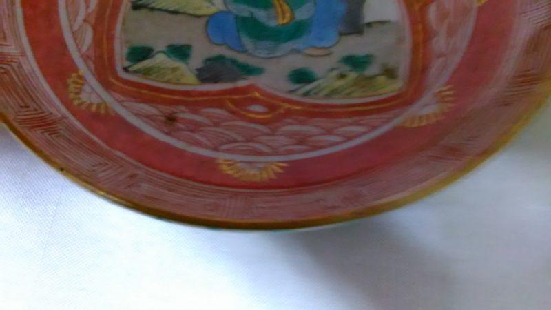幕末期九谷焼小皿