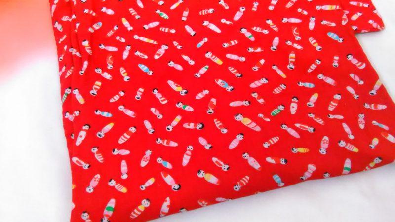 赤い子供着物
