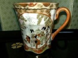 九谷焼コーヒーカップ2