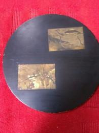 桐板塗り物銅板