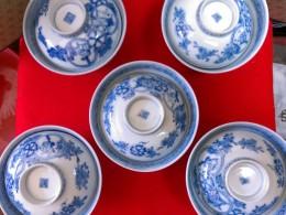 伊万里焼染付蓋茶碗全部