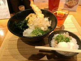 本町製麺所うどん定食