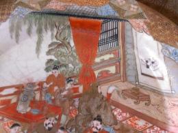 九谷焼お皿亀寿画