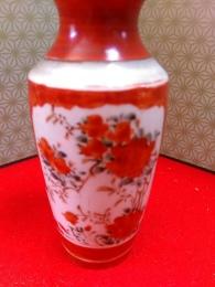 明治九谷焼小花瓶