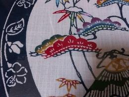 沖縄紅型額